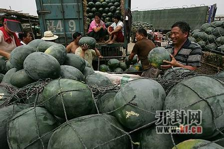 中国、河南西瓜、河南开封西瓜、通许西瓜